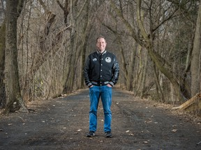 Enthusiast Gaming Chief Executive Adrian Montgomery in a Toronto park.