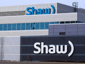 The Shaw building in northeast Calgary.