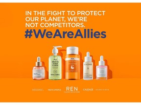 In the fight to protect our planet, we're not competitors #WeAreAllies