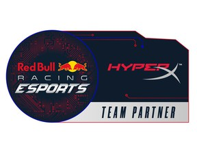HyperX Partners with Red Bull Racing Esports Team