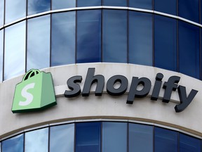 Shopify Inc. revenue was US$988.6 million in the quarter, compared with US$470 million a year earlier.