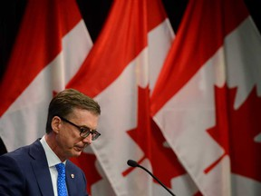 Bank of Canada Governor Tiff Macklem.
