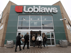 Loblaw on Wednesday reported net adjusted earnings of $392 million during its first quarter of 2021, up more than 12 per cent from the same period a year ago.