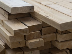 Lumber prices have been climbing to new highs on strong demand in the housing market.