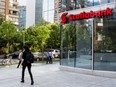 A Scotiabank branch in Santiago, Chile.