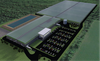 Soon-to-be Cannara's state-of-the-art greenhouse facility and rooftop greenhouse in Valleyfield, Quebec. SUPPLIED