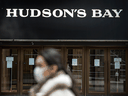 A Hudson's Bay store in downtown Toronto.