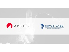 APOLLO Insurance has partnered with Royal York Property Management to offer digital insurance products, tailored to both tenants of properties managed by Royal York, as well as landlords.