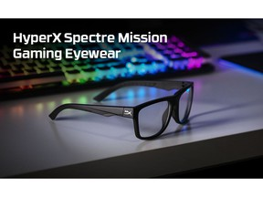 HyperX Expands Spectre Eyewear Lineup with Affordable, New Design and Blue Light Protection for Reduced Eye Strain and Extended Comfort