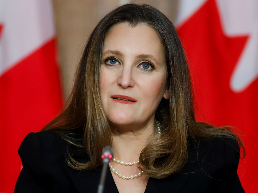 Chrystia Freeland has the blueprint to revolutionize Canadian banking — so let's use it