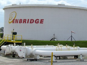Enbridge Inc. sold its stake in Noverco Inc., aiming to use the proceeds to repay debt.