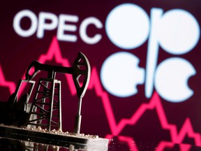 Deadlocked by a dispute between Saudi Arabia and the United Arab Emirates, OPEC+ is set to keep output levels unchanged next month even as fuel consumption bounces back from the pandemic and summer driving demand peaks.