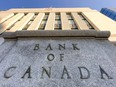The Bank of Canada building in Ottawa.