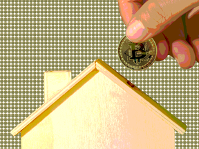 """Experts think using cryptocurrencies for practical purposes such as paying down mortgages is one piece of the overall """"crypto economy"""" that will one day become a reality."""