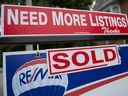 Listings for homes for sale in Toronto plunged 43 per cent from a year ago, helping lift prices 12.6 per cent, with detached homes continuing to drive price growth even as their sales dropped.