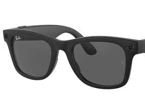 Facebook and Ray-Ban's first smart glasses which launched on Sept. 9, 2021.