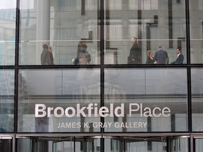 Brookfield is the largest investor in TDF, with a 45 per cent stake.