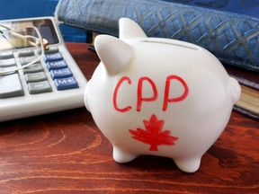 """The court characterized the CPP as a """"far-reaching, national, compulsory income insurance scheme,"""" calling it a """"contributory plan,"""" not """"a social welfare scheme."""""""