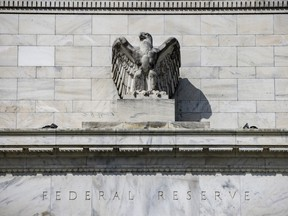 The Marriner S. Eccles Federal Reserve building in Washington, D.C., U.S., on Oct. 3, 2021.