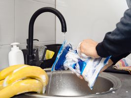 Disinfecting groceries