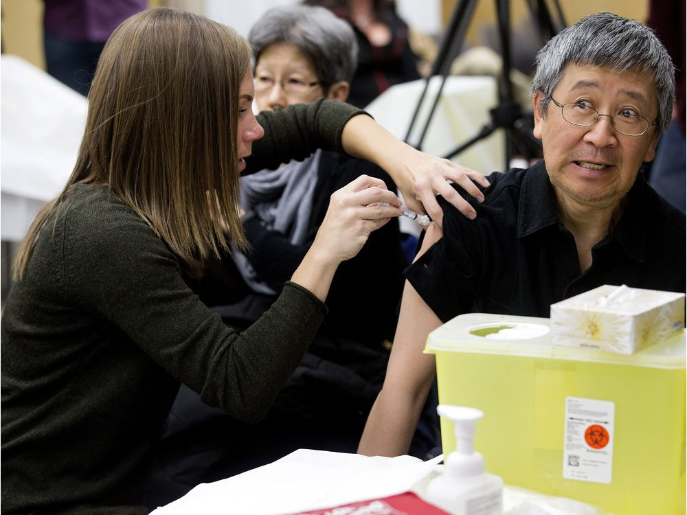 Through Feb. 8, there have been a total of 5,927 laboratory-confirmed influenza cases in the province