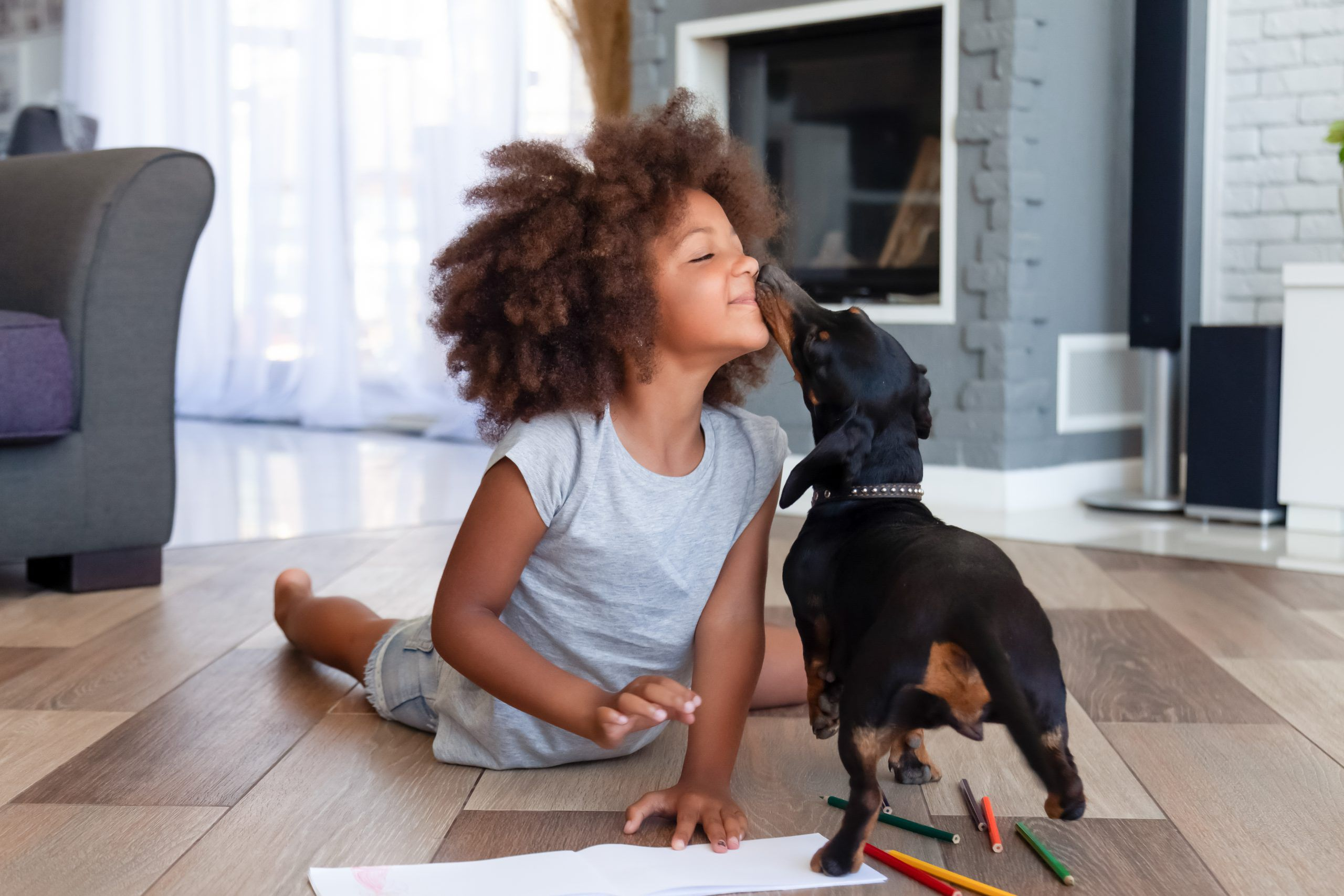 Is your kid feeling disconnected? Get a dog
