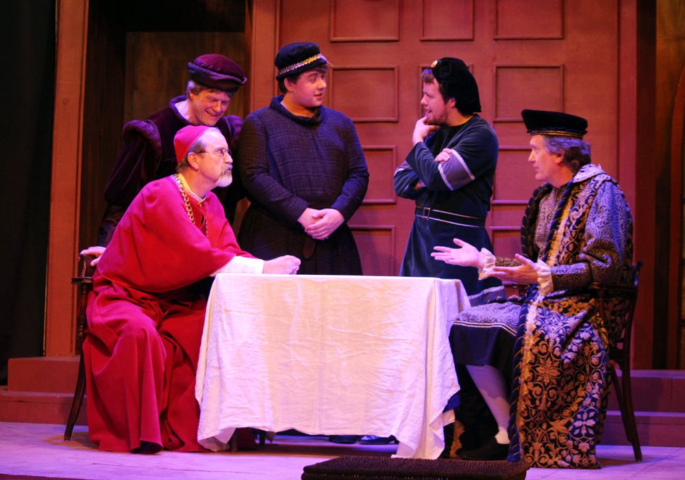TryLight Theatre's latest production, A Man for All Seasons starts this Sunday and runs until April 6. Ryan Stelter/Miner and News