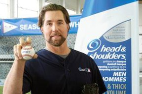 """The newest member to join the Head & Shoulders """"Mane Man"""" roster is All-Star pitcher and 2012 National League Cy Young Award winner R.A. Dickey."""