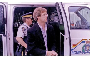 Leon Walchuk appearing in court in Regina in June 2000. LP file photo.