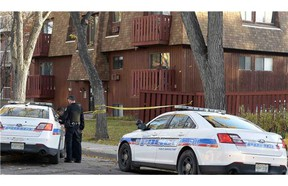 Regina police are treating the early morning death of a 48-year-old man as a homicide.