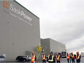 SaskPower's carbon capture and storage project.