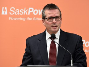 """SaskPower president Mike Marsh says clean coal technology is a """"great solution'' for Saskatchewan and the world."""