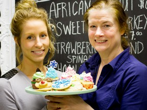 Serendipity Gluten-Free Bakery is owned by Kathryn Santha (left). She runs the bakery together with her mother Tara.