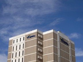 The Viterra head office  at Victoria Avenue and Albert Street in Regina. Viterra will likely soon cease to be a 'reporting issuer' in Canada.
