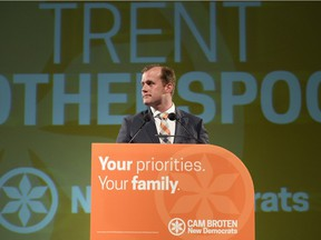 The NDP's Trent Wotherspoon won his Regina Rosemont seat.