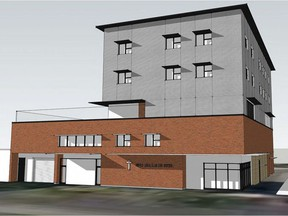 Renderings of the Souls Harbour Rescue Mission's new facility planned for the 1600 block of Angus Street.