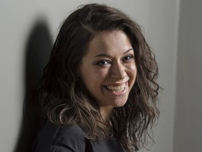 Actress Tatiana Maslany has been nominated for an Emmy Award as outstanding lead actress in a drama.