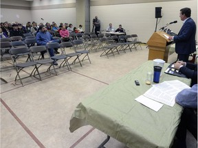 The mayoral forum in Cathedral was attended by about 40 people.