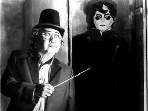 Victor Sawa will conduct the musicians during the film screening of The Cabinet of Dr. Caligari.