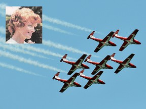 During her time at CFB Moose Jaw, Lois Boyle was a driving force behind the Snowbirds.