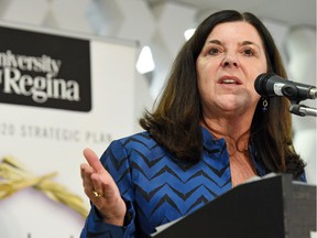University of Regina president Vianne Timmons