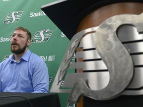 Chris Best's retirement after 10 seasons has created an opening at right guard for some of the Riders prospects.
