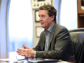 Mayor Michael Fougere has concerns over the impact of the provincial budget on the city's budget.