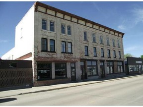 The exterior of the Commercial Hotel in Maple Creek. CREDIT: Royal LePage