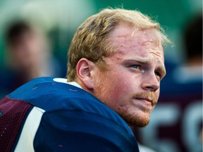Regina Thunder quarterback Sawyer Buettner recently got a haircut in support of a family member who is battling cancer.
