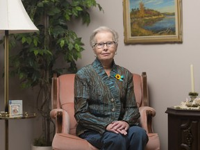 Fran Doering has ovarian cancer. She will participate in the Walk of Hope on Sunday to raise money for Ovarian Cancer Canada, which educates the public, funds research, and supports women who have the disease.