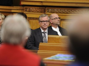 Premier Brad Wall apologized after bringing up allegations of sexual misconduct within the NDP during question period this week.