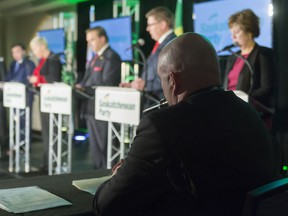 The final five Saskatchewan Party leadership candidates will see which one becomes premier on Saturday.