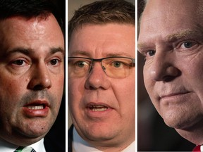 Scott Moe seems all too eager to thrown in wth Jason Kenney and Doug Ford on issues where Saskatchewan needs some independence.