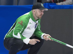 Saskatchewan's Steve Laycock has to win out and hope for help at the Brier on Friday.